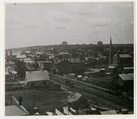 View of Lawrence and Mt. Oread