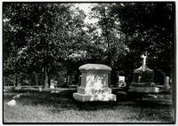 Calbertson Monument, Oak Hill Cemetery