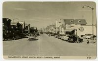 View of Massachusetts Street Looking North, 1950s