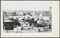 Business Sheet With Covered Wagons