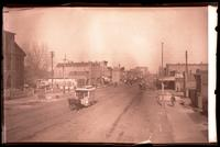 10th and Massachusetts Looking North with Horsedrawn Street Car