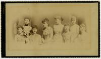 Group of Lawrence Society Girls