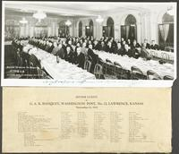G.A.R. Dinner at Eldridge Hotel - Lawrence, Kansas