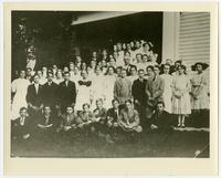 Unidentified Group of School Children