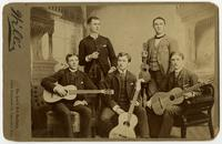 Group of Young Men with Guitars