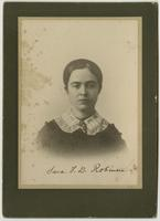 Sara Tappan Doolitle Robinson