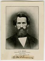 G.W. Brown, Editor of Herald of Freedom, Aged 38 Years