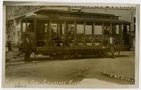 First Electric Street Car--Lawrence, Kansas