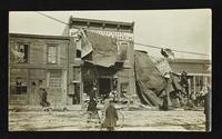 600 block of Massachusetts Street (Shane-Thompson Photographic Studio) (1911 Tornado)