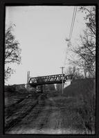 Bridge and streetcar