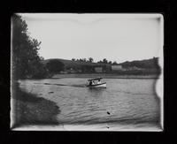 Boat Celeste? on river