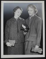 4H Fair - Mary Miller (left) and Mary K. Husted.