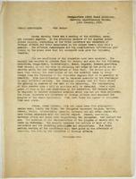 French Communique: via radio (January 14, 1919)