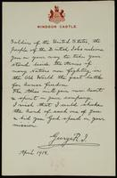 """Letter to """"Soldiers of the United States"""" from George R.J (April 3, 1918)"""
