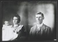 Portrait of Mr. Scott, Mrs. Boyd and Baby