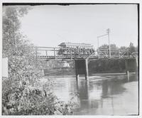 Streetcar on Bridge