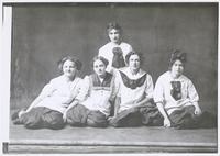 Group Portrait of Junior Girls Basketball Team