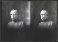 Double Portrait of Major Parker, Hospital Corps