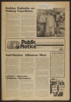 Public Notice, volume 4, no. 1