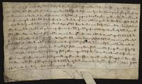 Legal document...on parchment