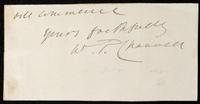Fragment containing autograph