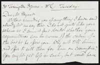 Letter to William Bryant