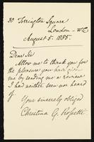 """Letter to """"Dear Sir"""""""