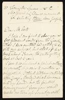 Letter to Mr. Scott [William Bell?].