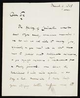 Letter from Ed. of P. M. G. [Editor of the Pall Mall Gazette] to William Michael Rossetti