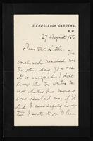 Letter to Mr. Little