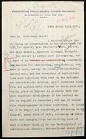 "Letter to ""Mr. Robertson Scott"""