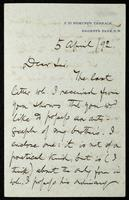 Letter to A. Carter