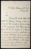 Letter to Richard Bentley