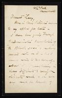 """Letter to """"Dearest Lucy"""" (Lucy Madox Brown Rossetti)"""