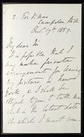 Letter W. M. Rossetti