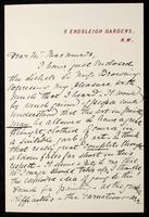 """Letter to """"Dear Mr Mac[???]"""""""