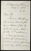 "Letter to ""Wm Rossetti"""