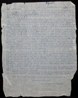 "Letter to ""Dear old Friends"" [Mr. and Mrs. J. W. Robertson Scott?]"