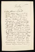 Letter to Theodore Watts-Dunton