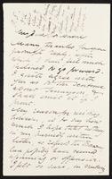 Letter to Algernon Charles Swinburne