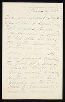 Letter to Lord Mount-Temple [Baron Mount-Temple, William Francis Cowper-Temple]