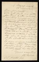 Letter to Dear Mr Hall_ [Charles Edward Hall_]