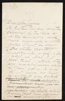 Letter to Mr Turner [W. A. Turner?]
