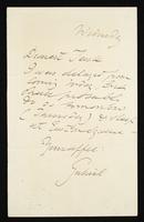 Letter to Dearest Teak [Frances Polidori]