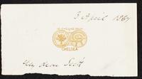 Letter fragment to Scott