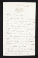 Letter to Jonathan Tong