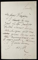 Letter to S. J. B. Haydon