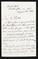 Letter to Frederic James Shields