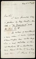 Letter to W. M. Rossetti