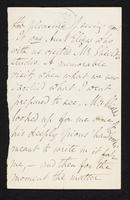 Letter to unknown recipient regarding Frederic James Shields